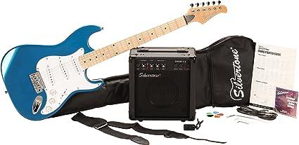 Silvertone cita paquete de guitarra eléctrica y amplificador ...