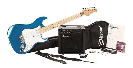 Silvertone cita paquete de guitarra eléctrica y amplificador