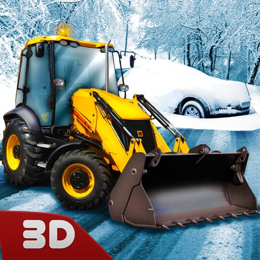 Snow Rescue Excavator Sim: Digger Games | Snow Plowing Construction Simulator Saving Games Heavy Equipment