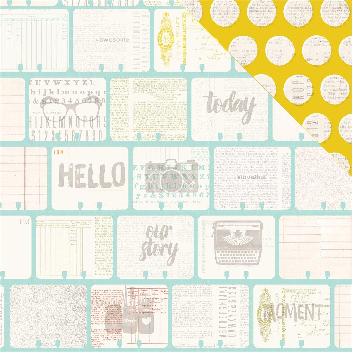 American Crafts Ledger-Memorandum DS Papier, Acryl, Mehrfarbig B016QUH2OO | Spezielle Funktion