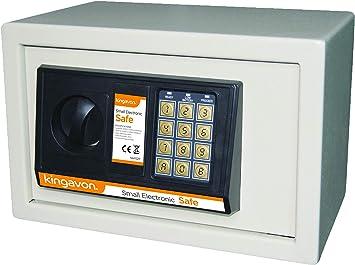Kingavon SAFE27 - Caja Fuerte electrónica (tamaño pequeño): Amazon.es: Bricolaje y herramientas