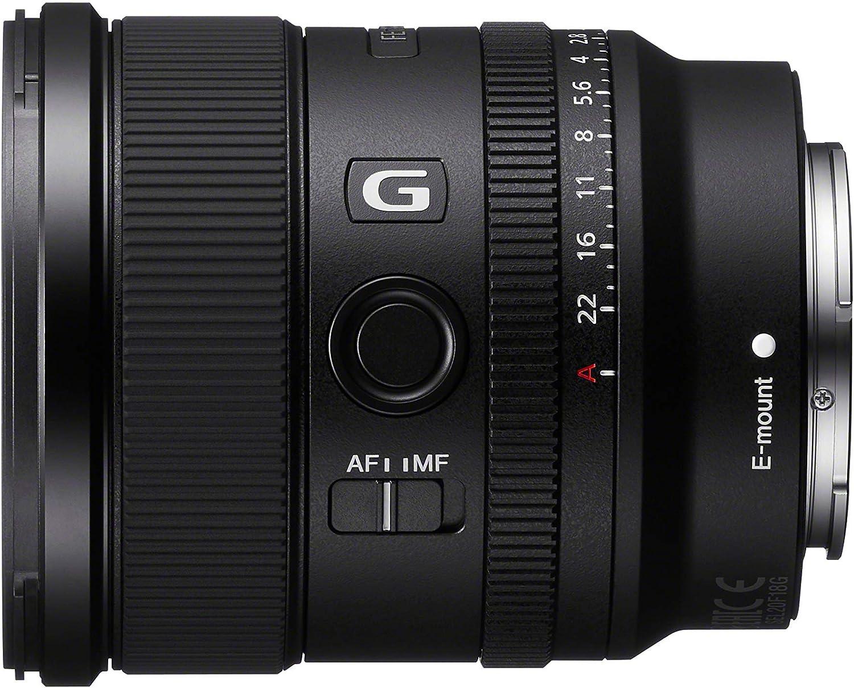 Sony Sel 20f18g Vollformat E Mount Objektiv Schwarz Kamera