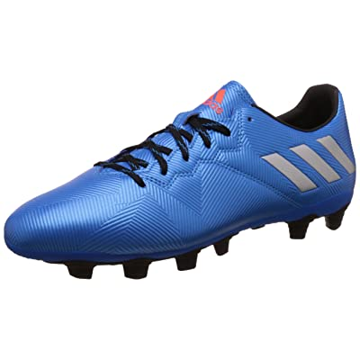adidas Messi 16.4 FxG, Chaussures de Football Homme, Argent