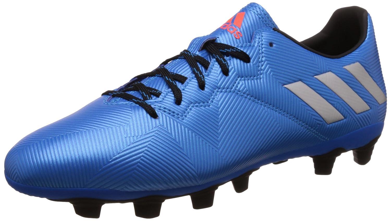 Adidas Herren Messi 16.4 Fxg Fußballschuhe, Silber