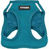 Voyager Step-in Air Dog Harness - All Weather Mesh, Step in Vest Harness for Small and Medium Dogs by Best Pet Supplies…