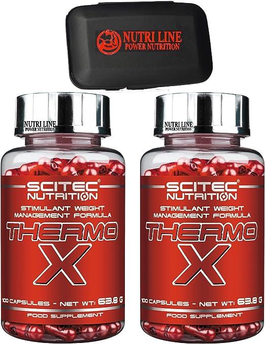 Scitec nutrition thermo x 200 capsule (100 x 2 )potente termogenico brucia grassi B01M3TIUTP