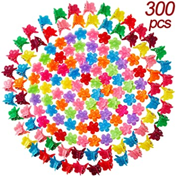 36 pcs Cute star Hair clip cover size 55 mm pink color