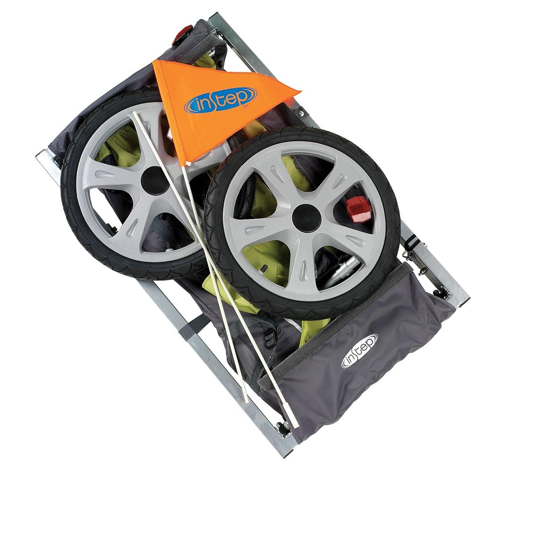 Pacific Cycle Instep Sync - Remolque para Bicicleta, 12-QE104, Green/Gray: Amazon.es: Deportes y aire libre