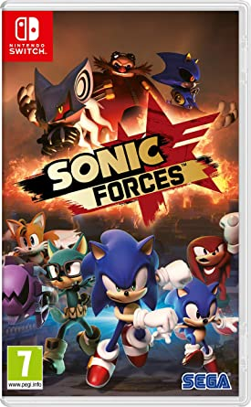 SEGA Sonic Forces: Bonus Edition, Nintendo Switch Bonus Nintendo ...