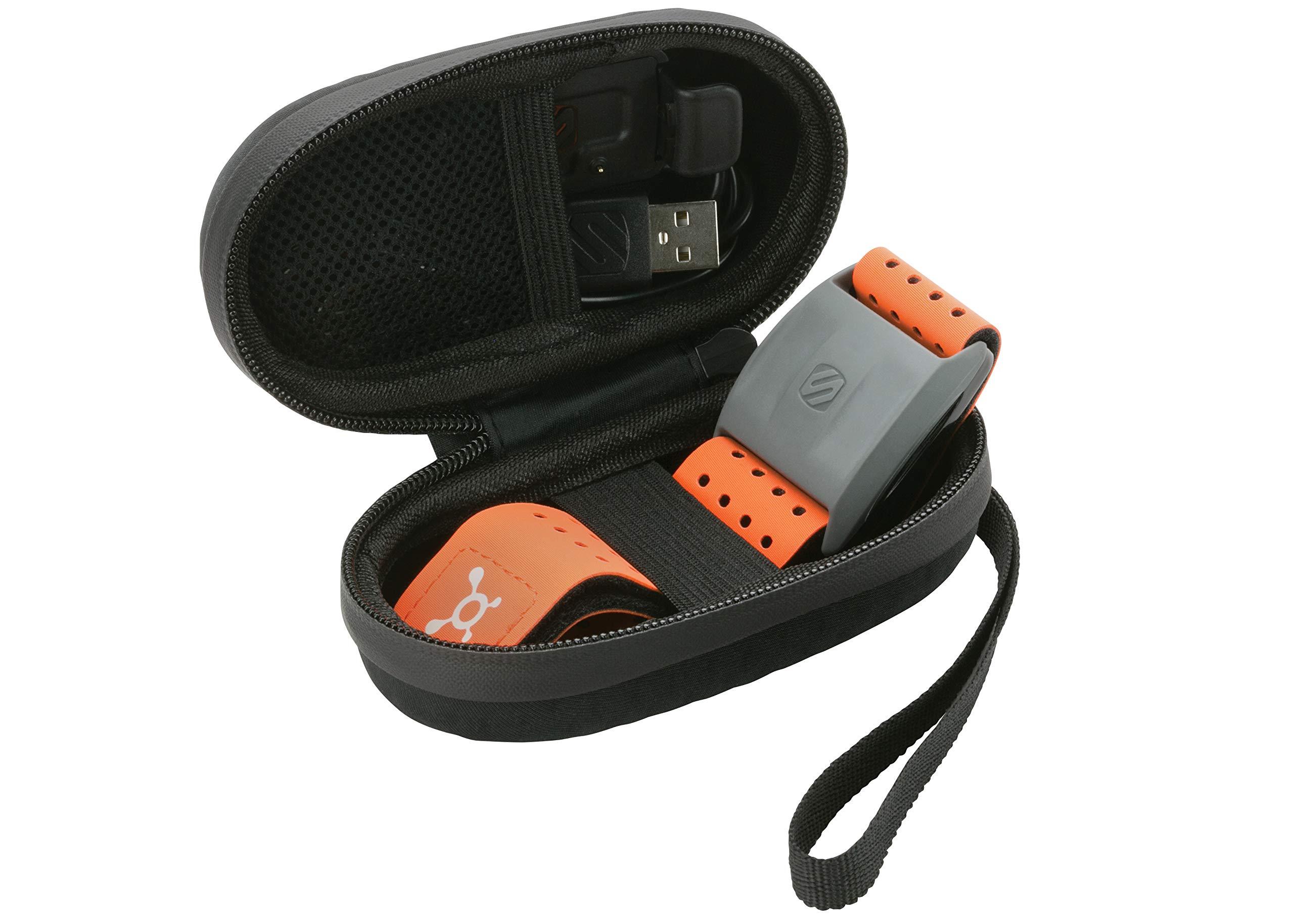 Scosche Rhythm Zipper Case | Hard Case for Rhythm+ and Rhythm 24 (Black) by Scosche (Image #3)