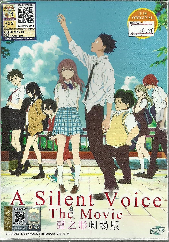 Amazon com a silent voice the movie complete anime movie dvd box set movies tv