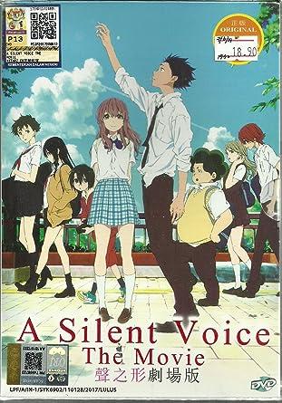 Amazoncom A Silent Voice The Movie Complete Anime Movie Dvd Box
