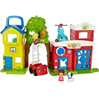 Fisher-Price Little People Helpful Neighbors City Set