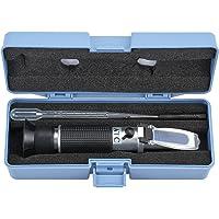Proster Brix Refractometer 0~32% Brix Wort Specific Gravity Refractometer Fruit Juice Beer Wine Sugar Test