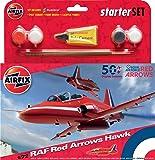 Airfix - Ai55202a - Raf Red Arrows Hawk 50 Display Seasons - Kit De Démarrage - 59 Pièces - Échelle 1/72