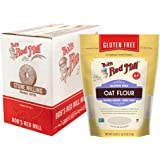 Bob's Red Mill Gluten Free Oat Flour, 18 Ounce (Pack of 4)
