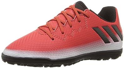adidas Boys  Messi 16.3 TF J Skate Shoe Red Black White 1 M 4b135d2b3