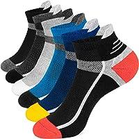 Onmaita Calcetines Cortos Hombre y Mujer, 6 Pares Calcetines Tobilleros de Algodón,Calcetines Deporte para Running…