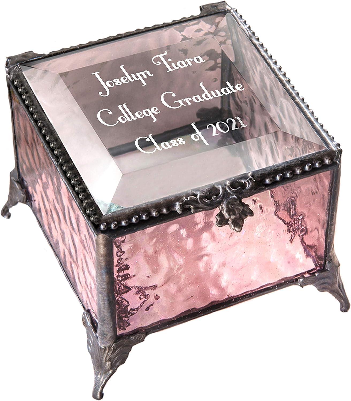 Buffalo Oak Jewellery Box Photo Insert 6x4 Personalised Engraving Ladies Gift 436