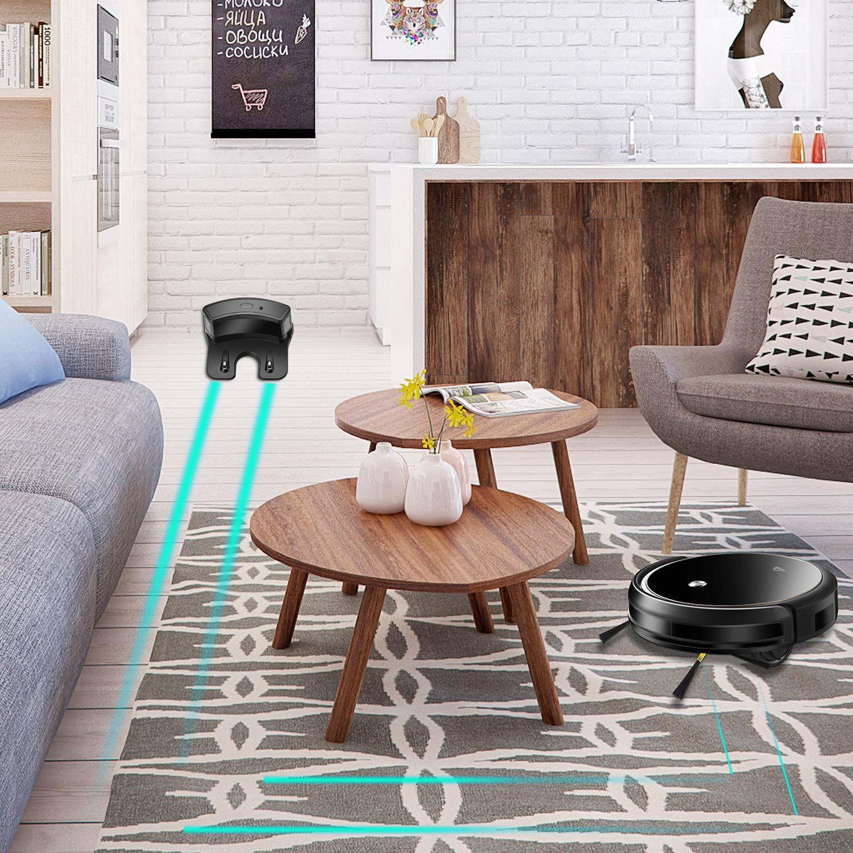 Robot Aspirador y Fregasuelos ; Mapeo con Navegación Inteligente, 6 Modos de Limpieza con MagneticStrip. 3 Niveles de Fregado, Programable: Amazon.es: Hogar