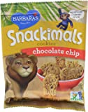 Barbara's Snackimals Cookies, Chocolate Chip,1 Ounce (Pack of 30)