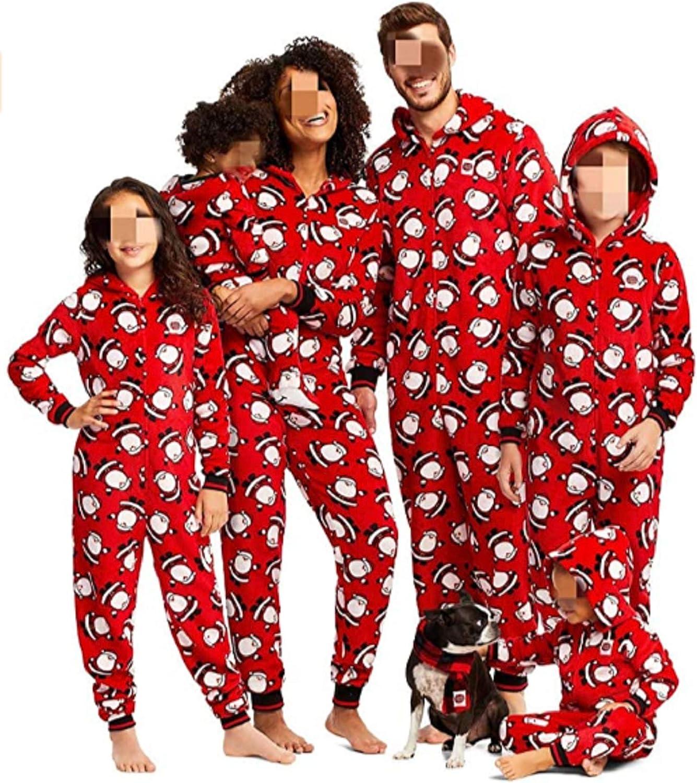 Pijamas Familiares Navideñas Pijama Navidad Familia Mono Navideños Mujer Niños Niña Hombre Pijama Reno Entero Navidad Pijamas a Juego Manga Larga ...