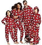 Pijamas Familiares Navideñas Pijama Navidad Familia Mono Navideños Mujer Niños Niña Hombre Pijama Reno Entero Navidad…