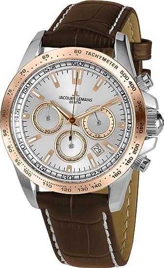 JACQUES LEMANS Reloj de cuarzo Man Liverpool 1-1836 41 mm