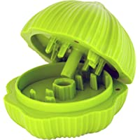 HIC Harold Import Co. 8907 HIC Chop Garlic Chopper, Lime Green