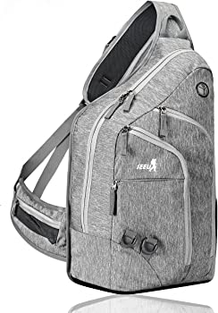 SEEU Oversized Crossbody Sling Backpack
