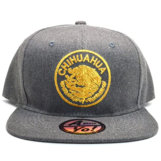 50c8ab6df Hecho En Mexico Baseball Cap Eagle Mexican Aguila Snapback Flat Hat ...