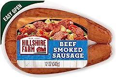 Hillshire Farm Beef Smoked Sausage Beef Sausage, 12 oz
