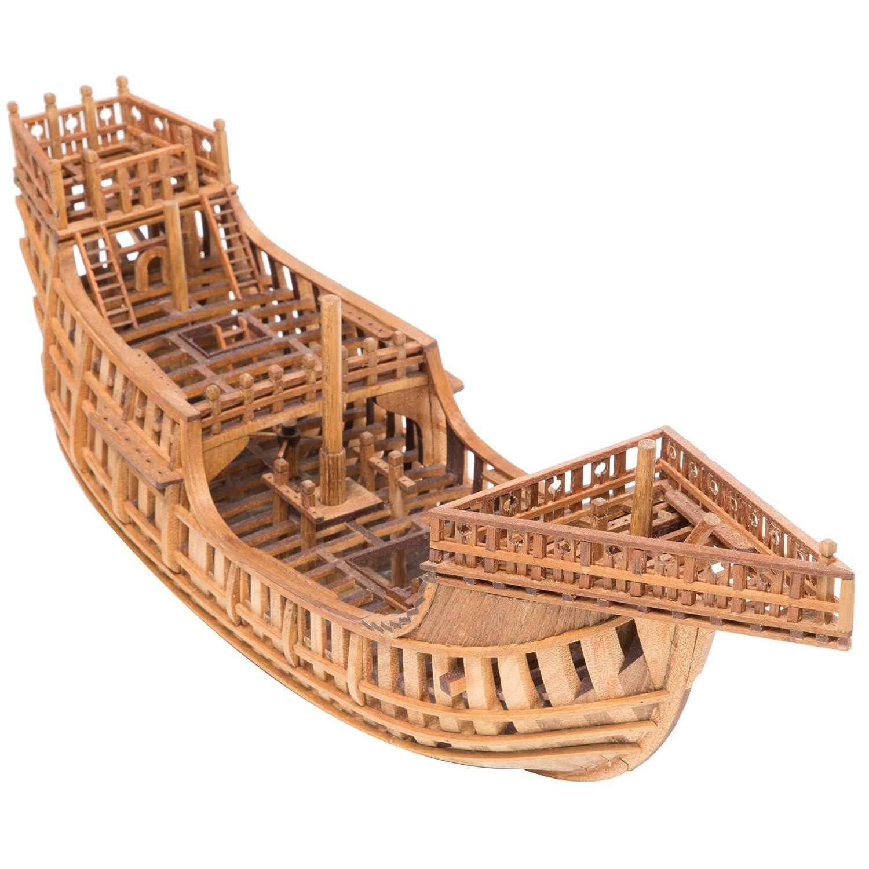 シップモデル奥本 帆船構造模型キット サンタマリア号 1/80 B07CTB9WGN