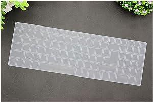 15.6 Inch Keyboard Cover Protector for Acer Aspire E15 E 15 E5 576 E5576 V3 V15 E5 553G/575G/Aspire 3 5 7 Serie,Transparent