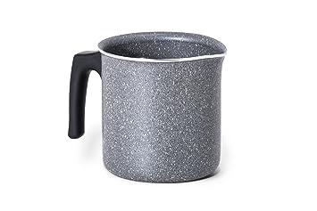 Bialetti Trudi R Lechera Aluminio, Color Gris, Aluminio, Gris, 44 x 36 x 18,5 cm: Amazon.es: Hogar