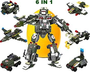 Free Poster Kit Included JITTERYGIT Robot STEM Toy Construction Building Toys for Boys Ages 6-14 Years Old Best Toy Gift for Kids 3 in 1 Fun Creative Set