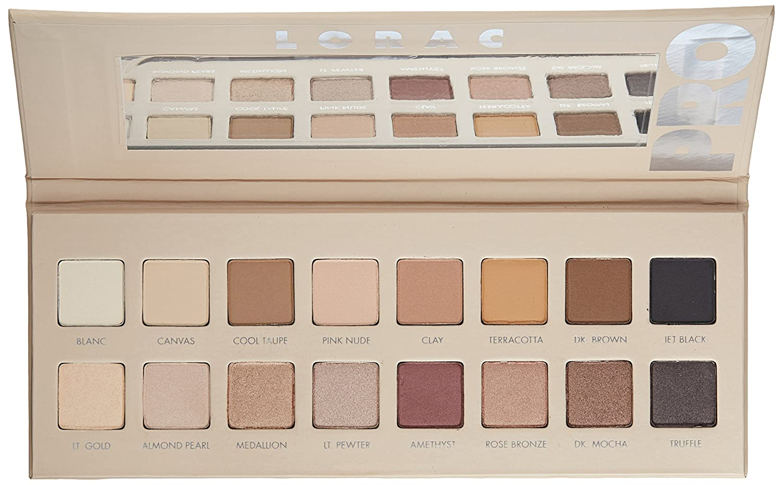 Amazon Com Lorac Pro Palette 3 Eyeshadow Kit Premium Beauty