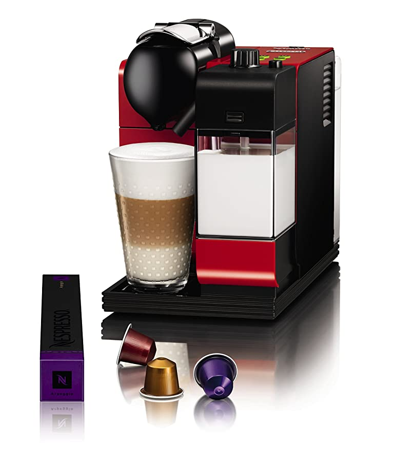Delonghi EN520.R Nespresso Lattissima Plus Coffee Maker - Red ...