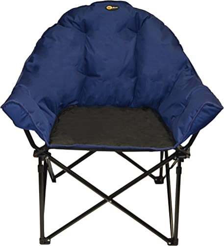 Faulkner 49575 Big Dog Bucket Chair, Blue Black