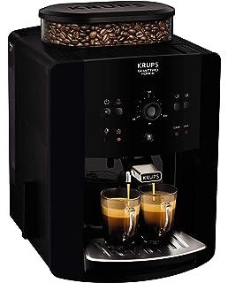 Krups Arabica EA8110 Independiente Totalmente automática Máquina espresso 1.7L Negro - Cafetera (Independiente,
