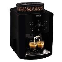 Krups Arabica EA8110 Independiente Totalmente automática Máquina espresso 1.7L Negro - Cafetera (Independiente, Máquina espresso, 1,7 L, Molinillo integrado, 1450 W, Negro)