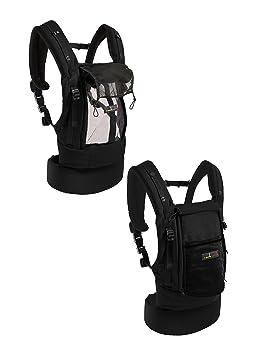 je porte mon bébé PhysioCarrier Porte-bébé Tout Noir  Amazon.fr ... 7d111c0a23c