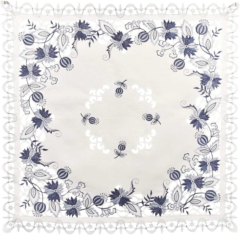 Lexs Linens Handt/ücher 2 St/ück bestickt mit Blumen und Schmetterlingen