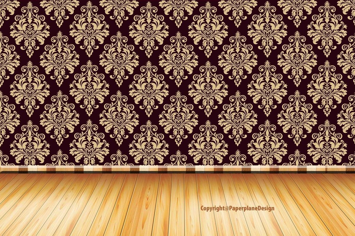 Paper Plane Design Wallpaper Roll Pvc Vinyl 91 Cm X 61 Cm