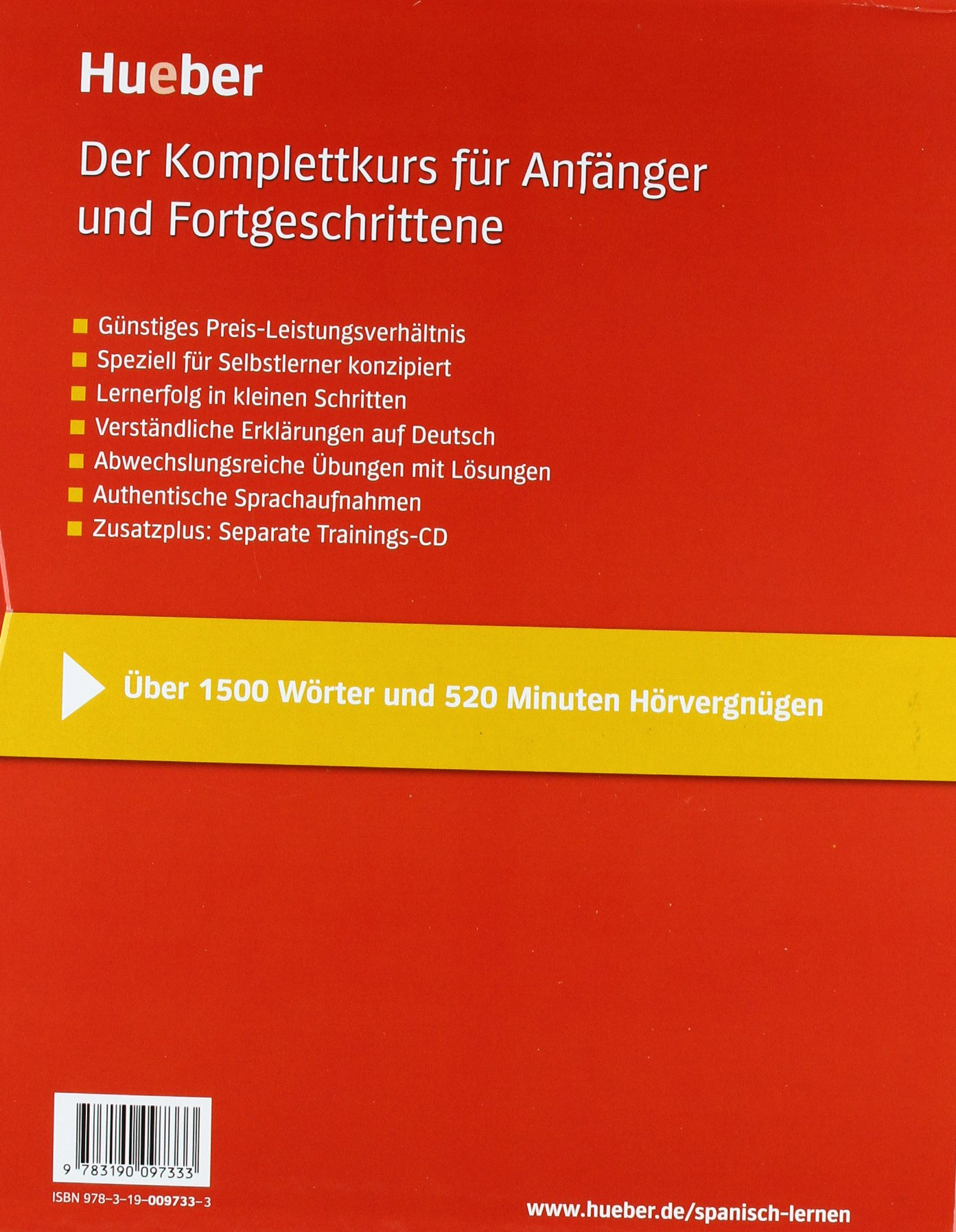 Komplettkurs Spanisch: Anfängerkurs & Aufbaukurs / Paket: 2 ...