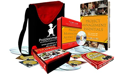 PMP Exam Turbo Training 35 Contact Hours/PDUs - 16DVDs, 18CDs, Book,