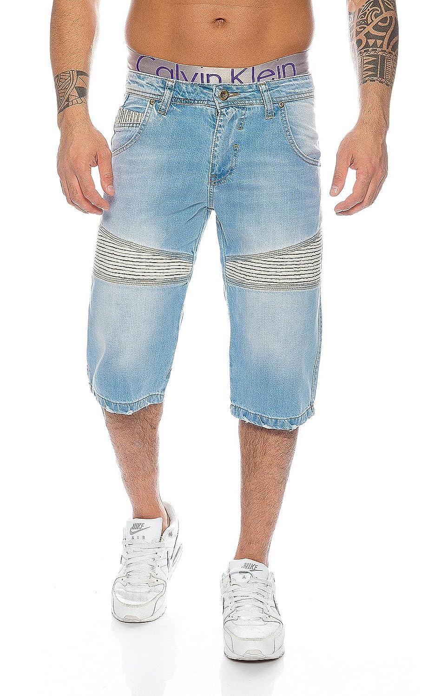 Rock Creek Herren Bermuda Shorts Hose Denim dicke Nähte