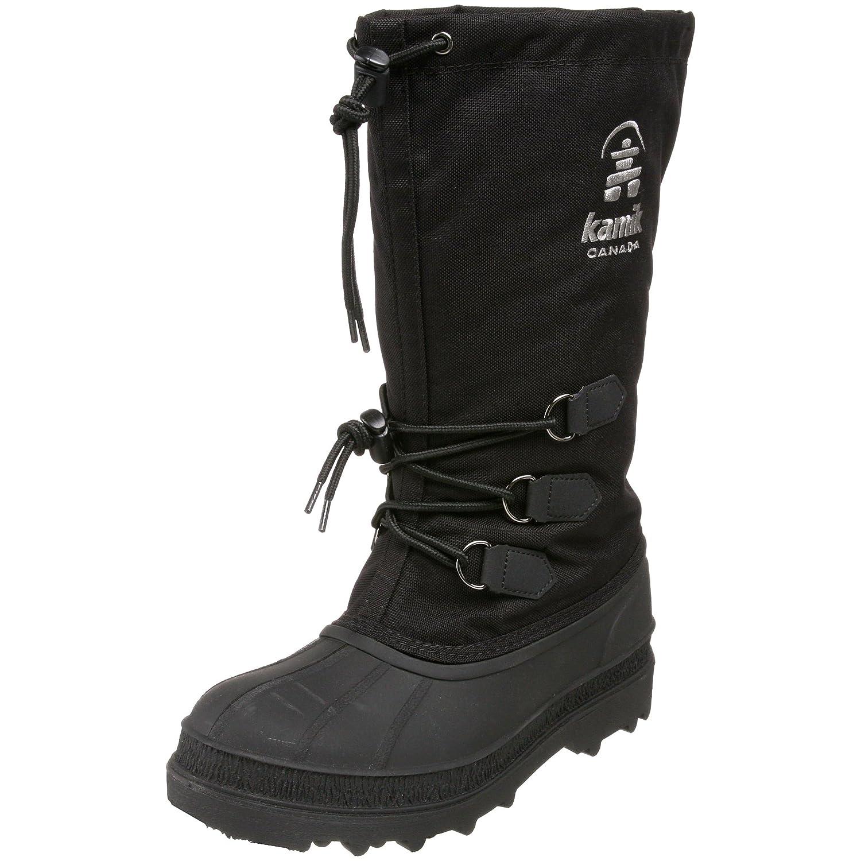 Kamik Women's Canuck Boot B0036FT1K6 9 M US|Black