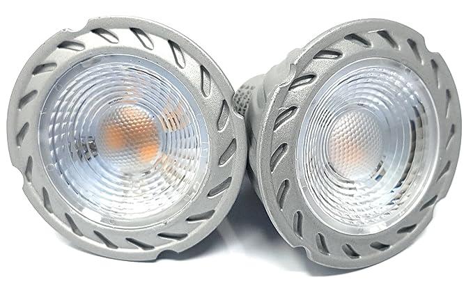 Robus lámpara de cristal LED – Bombilla LED de bajo consumo (GU10, 4,