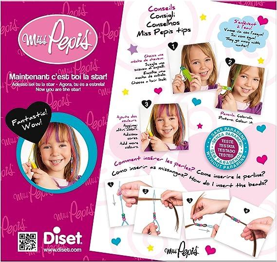 Diset 46784 – Mechas fantasía Miss Pepis: Amazon.es: Juguetes ...